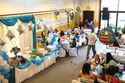 Baby blue themed birthday party!