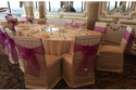 ruched fashion spandex chair cover for wedding