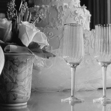 Medium wedding flutes photo