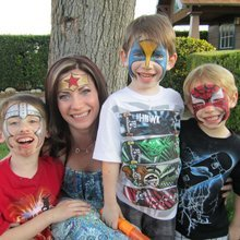 bay area party ent face painting photo booth rental in san
