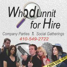 Medium whodunnit for hire eventful