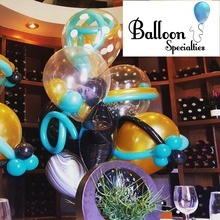 Medium classy balloon specialty bouquet