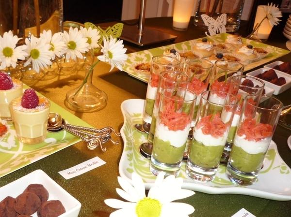 Lila buffet styling spring buffet - Sideboard lila ...