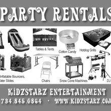 Kidzstarz Party Rental In Ypsilanti Michigan 734 845 0864