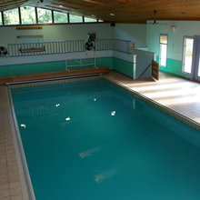Medium indoor pool