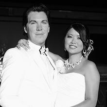 Medium bride and groom university club san diego