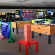 Medium private arcade and events facility